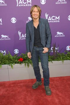 Keith Urban at the 48th Annual Academy of Country Music Awards