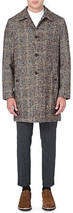 SLOWEAR Houndstooth wool-blend coat on shopstyle.co.uk