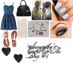 """""""Samantha's Outfit Of The Day #6"""" by ashleyassanah ❤ liked on Polyvore"""
