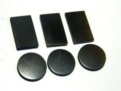 6 pcs Shungite plates for phones protective by ShungiteMagic