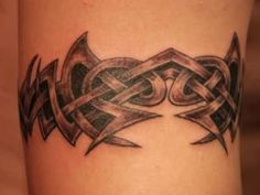 21 Tribal Armband Tattoo for Men