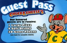 Chuck E. Cheese's Little Big Night Out Is Coming March 31st Plus Donate Through April (& Giveaway Ends 4/8) Read more at http://momandmore.com/2016/03/chuck-e-cheeses-little-big-night.html#isyWi0pJkx6p888r.99