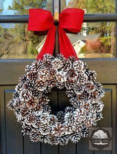 Hey, I found this really awesome Etsy listing at https://www.etsy.com/listing/212610366/christmas-wreath-pinecone-wreath-holiday