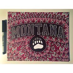 Montana order complete! #zentangle #zenspire #blynndesigns #montana #sharpie #art