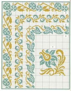 Thrilling Designing Your Own Cross Stitch Embroidery Patterns Ideas. Exhilarating Designing Your Own Cross Stitch Embroidery Patterns Ideas. Cross Stitch Geometric, Cross Stitch Borders, Cross Stitch Flowers, Cross Stitch Charts, Cross Stitching, Cross Stitch Embroidery, Embroidery Patterns, Cross Stitch Patterns, Seed Bead Patterns