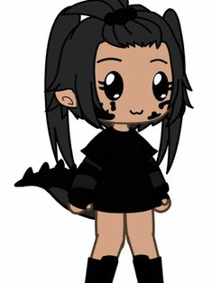 Anime Drawing Styles, Anime Girl Drawings, Kawaii Drawings, Drawing Poses, Cute Drawings, Super Funny Pictures, Cute Dog Pictures, Cute Anime Character, Character Art