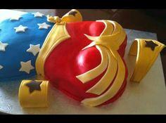 Wonder women cake - LOVE THIS!!!