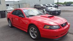 Looking for that special Ford Mustang? I have it on the lot. won't last long 02 with only 33K miles. Manual shifting power for that special ride for you. Call me 816-272-1699