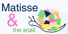 Create one of Matisse's most famous paintings/collages - the snail, print out a template for smaller kids, watch the video of Matisse at work... arTree art project for preschoolers
