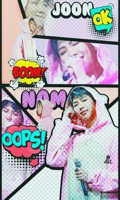 bts >w< lovee Namjoon, Taehyung, Rapmon, Billboard Music Awards, Yoonmin, Kpop, V Bts Wallpaper, Bts Rap Monster, Bts And Exo