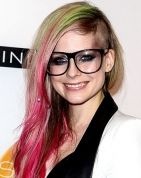 Avril Lavigne Shaves Her Head, Dyes Her Hair Pink and Green