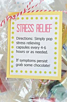 Brighten someone's day with a simple Stress Relief Kit ...