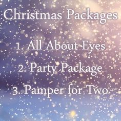 All About Eyes, Appointments, Packaging, Beauty, Christmas, Xmas, Navidad, Wrapping, Noel