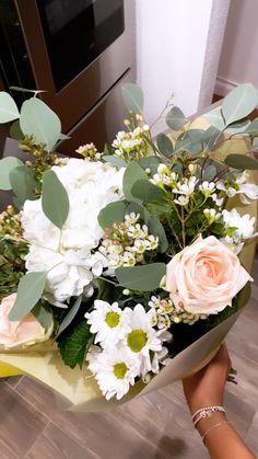 Winter Florals - Winter flowers, Hydrangea, Roses, Eucalyptus, baby's breath