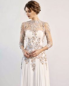 Add a little bit of color to your wedding dress This gown has peach and blue lace do you like it? Formal Dresses, Wedding Dresses, Wedding Bride, Do You Like It, Blue Lace, Blush, Wedding Inspiration, Peach, Gowns