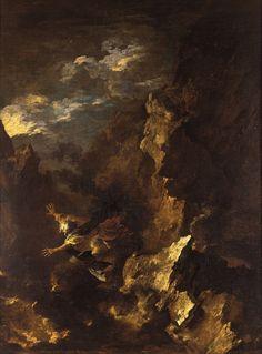 Kurt Lewy (Belgian, 1898–1963), Composition n°208, 1963. Oil on canvas, 90 x 130 cm