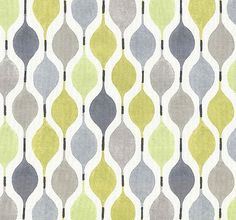 Yellow and Grey Geometric Cotton Home Decor Fabric - Modern Lime Green Grey Ogee Roman Shade Curtain Fabric - Yellow Geometric Pillow Covers Living Room Upholstery, Furniture Upholstery, Upholstery Repair, Upholstery Nails, Upholstery Cleaning, Printed Curtains, Curtains With Blinds, Home Decor Fabric, Home Decor Bedroom