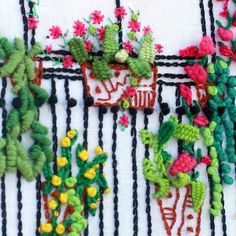 Diy Embroidery Patterns, Beaded Embroidery, Embroidery Stitches, Textiles, Darning, Diy And Crafts, Crochet Necklace, Christmas Ornaments, Beautiful