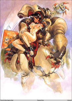 Masamune Shirow Shir Masamune born November 23 1961 is the pen name of Japanese manga artist Masanori Ota The pen name is derived from the legend Old Anime, Manga Anime, Anime Art, Cyberpunk, Character Art, Character Design, Masamune Shirow, Estilo Anime, Manga Artist