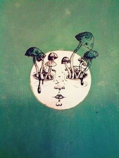 Mushrooms grow on the moon