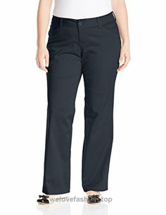 Lee Women's Plus-Size Modern Series Curvy Fit Maxwell Trouser, Imperial Blue, 16W Medium  BUY NOW     $35.45    Midrise in the front, higher in the backStraight-leg pant featuring curved back yoke, slanted front pockets, and welted back pockets No-gap waistband is midrise in fr ..