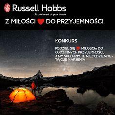 """""""Z miłości ♥ do przyjemności"""" konkurs promocyjny marki Russell Hobbs"""
