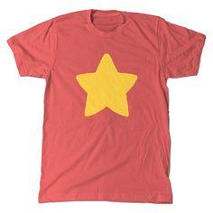 Steven Universe Coral T-Shirt, Cartoon Star Tee