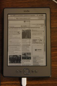 Post completo con crónica, fotos y vídeo: Amazon Kindle: ¿Vale la pena?     The only wireless reading device you will need!