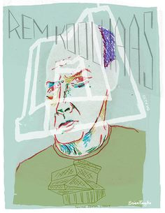 Portrait of Rem Koolhaas