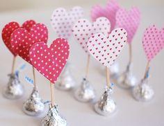 regalos con chocolates kisses - Buscar con Google