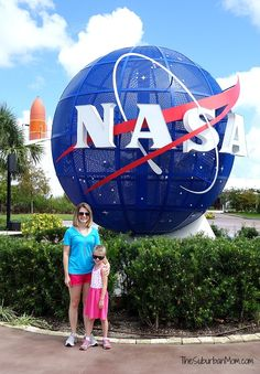 A visit to Kennedy Space Center Visitor's Complex NASA when visiting Central Florida is a must! #LoveFL Ad