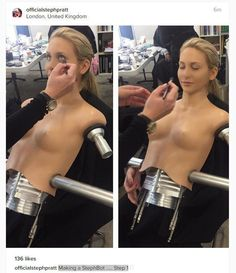 Made in Chelseas Stephanie Pratt as youve never seen her before as a sexy robot