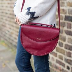 Our Ruby Paternoster Medium Flap Over Grab Bag, as seen on @loveclothblog
