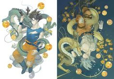 Dbz, Dragon Ball Z, Gogeta And Vegito, Godzilla, Boruto, Son Goku, Super Saiyan, Anime, Manga