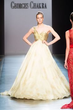 Georges Chakra 2014-2015 Fall/Winter Haute Couture Collection #Fashion #GeorgesChakra #lebanon #Dresses