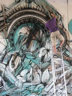 Hopare. #hopare http://www.widewalls.ch/artist/hopare/