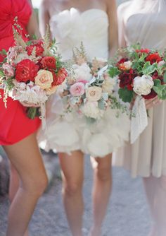 pretty sure i'm going to have a short wedding dress.and that bridesmaid dress color is beautiful! Wedding Wishes, Red Wedding, Summer Wedding, Wedding Colors, Wedding Events, Wedding Day, Wedding Dress, Wedding Shot, Wedding Attire