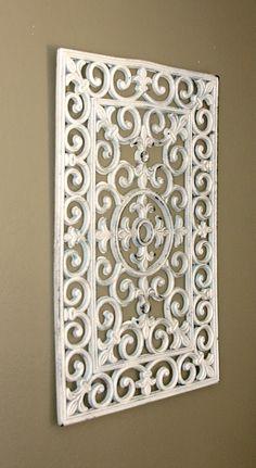 Salvage Dior: Rubber Door Mat Wall Art {DIY}