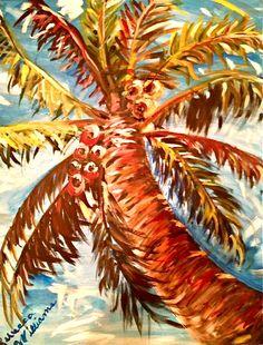 {{ palm tree love near ocean breezes }}