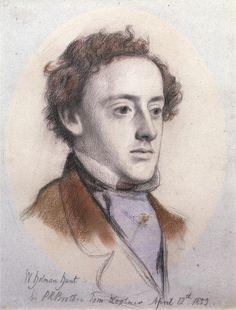 The Athenaeum - Portrait of John Everett Millais, 1st Bt (William Holman Hunt - )
