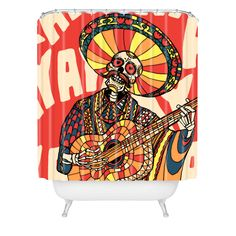 http://www.denydesigns.com/products/ali-gulec-mariachi-shower-curtain