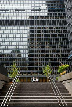 Toronto Financial District (Mark A. Cadiz, Railroad Tracks, Toronto, The Neighbourhood, The Neighborhood
