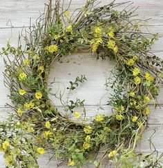 Jasmine Twig Wreath
