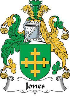Jones Coat of Arms (Kildare, Ireland 1603)