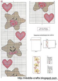 شغل ابره NEEDLE CRAFTS: مفروشات للاطفال -kid's sheets