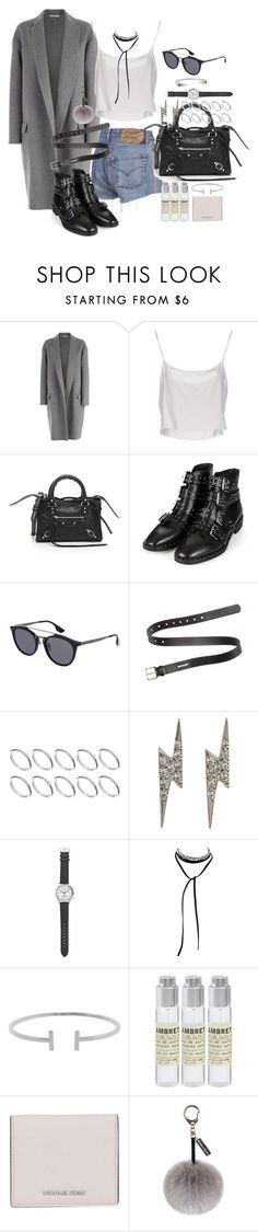 """""""What has it gotten you"""" by marissa-91 ❤ liked on Polyvore featuring CÉLINE, Jean-Paul Gaultier, Balenciaga, Topshop, McQ by Alexander McQueen, Acne Studios, ASOS, Ileana Makri, J.Crew and Humble Chic"""