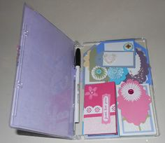 DVD Case to gift tags and card holder