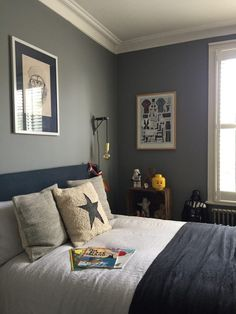 Project Reveal: Pre-Teen Boy Bedroom – Savage Interiors - bedroom furniture for teens Blue Boys Bedroom, Boys Bedroom Paint, Vintage Bedroom Decor, Boy Bedroom Design, Bedroom Design, Boys Bedroom Makeover, Teenager Bedroom Boy, Bedroom Vintage, Bedroom Decor