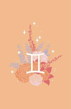 'Gemini Flowers - BRIGHT' by VenusandMoon