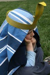 Make a Pharaoh's Headdress